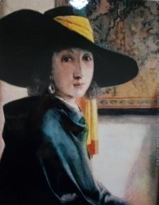 Attributed to Johannes Vermeer, mid 1600's
