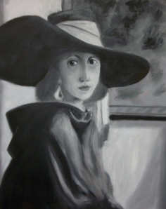 Grisaille underpainting by Piet.
