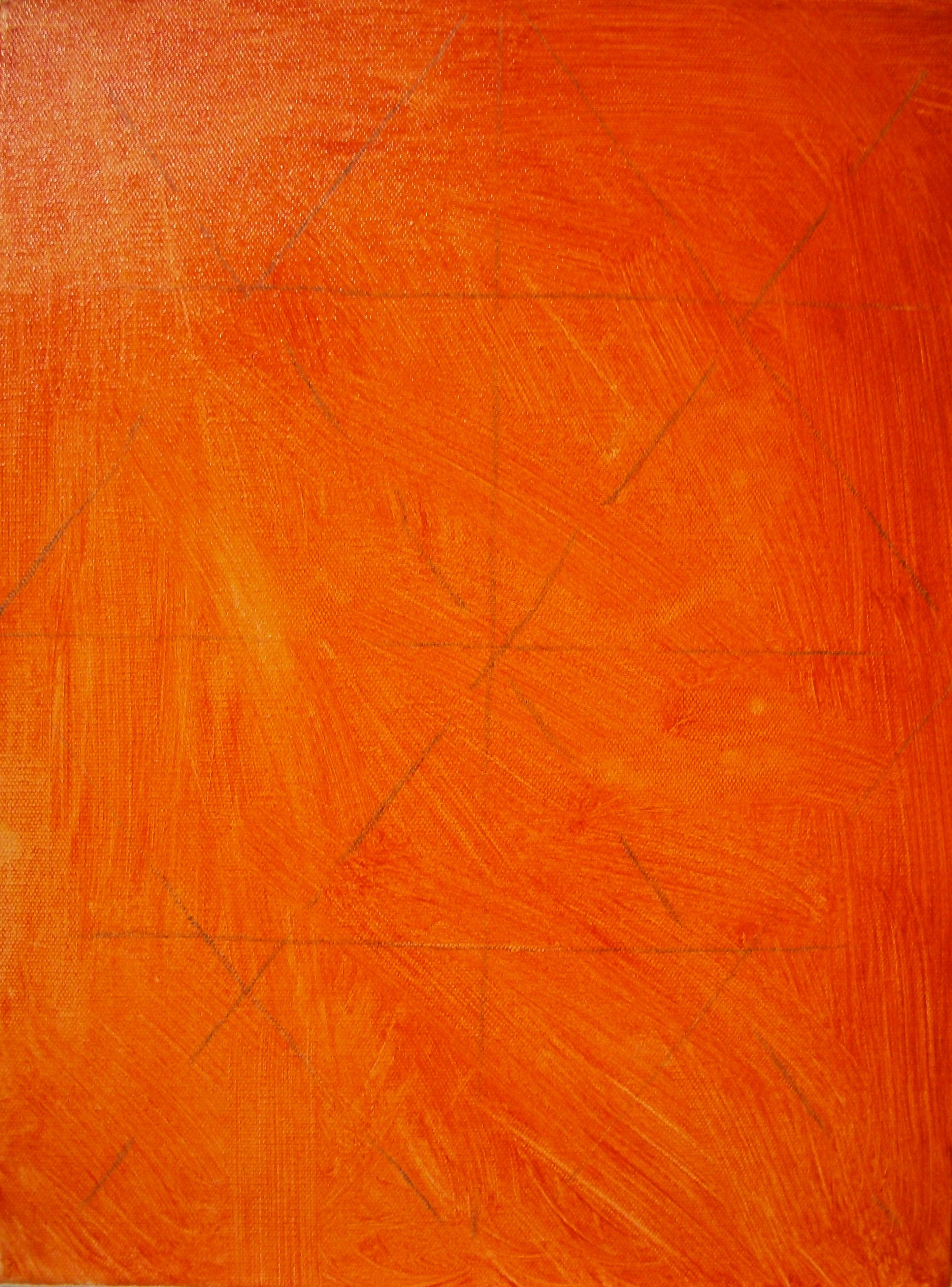 Making Burnt Orange Paint