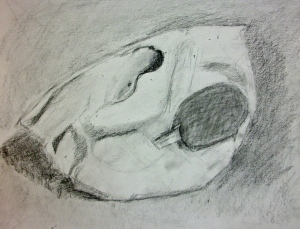 Evelyn's drawing.
