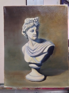 Apollo, in Oil, by Lourdes.